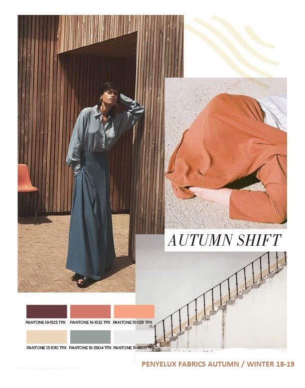 AUTUMN SHIFT! COLOURS, FABRICS, FINISHES..