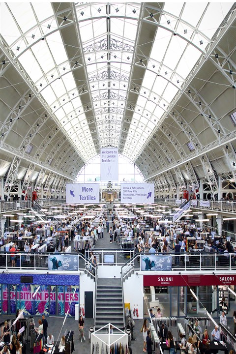 Penyelux Fabrics was at London Textile Fair '18